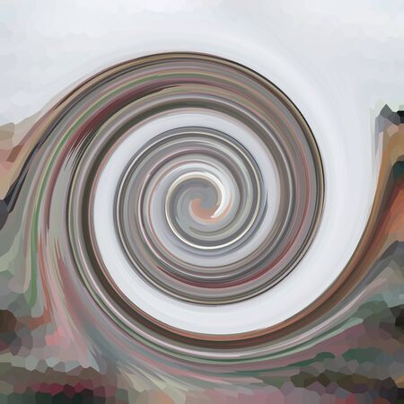 Swirls of digital paint suitable as background for projects on art, creativity and education Stock Photo
