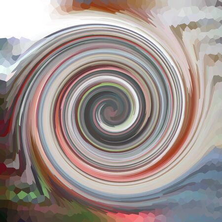 whirlpool: Swirls of digital paint suitable as background for projects on art, creativity and education Stock Photo