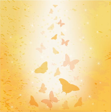 Abstract butterfly vector background Stock Vector - 17011922