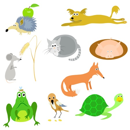 set of vector animals, EPS10 Vector