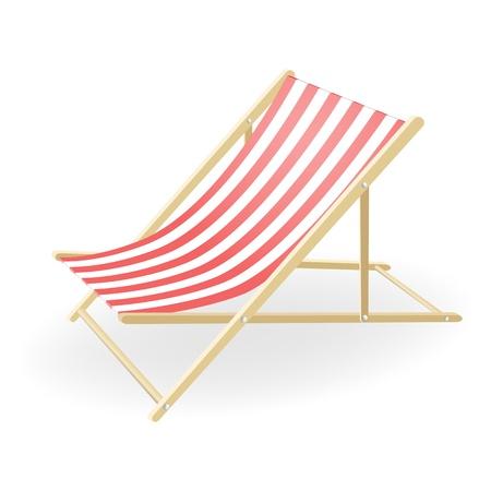 porch chair: Vector illustration, EPS10