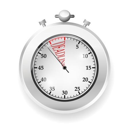 Vecteur chronom�tre