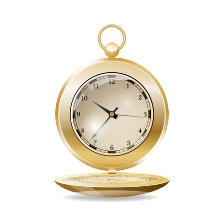 Reloj de bolsillo ilustración vectorial Foto de archivo - 21823463