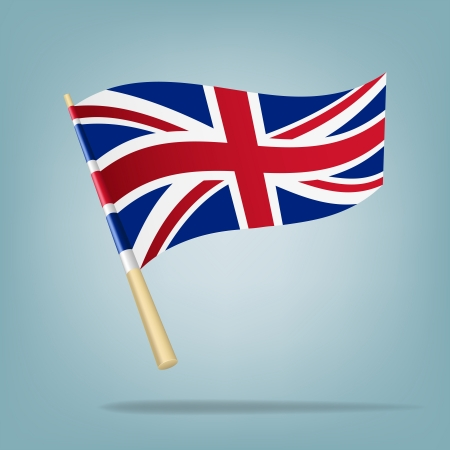 Flag of the United Kingdom illustration Vector