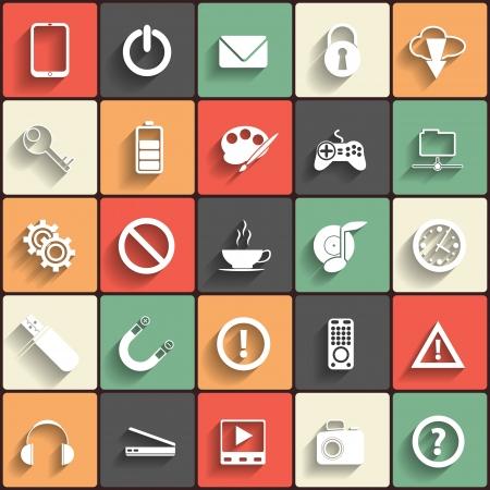 icono web: Ilustraci�n vectorial