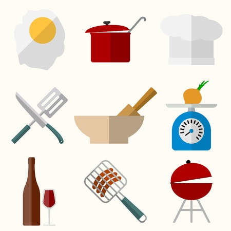 Cooking vector icons Vector