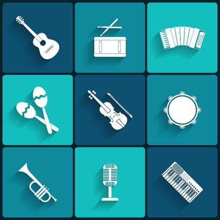Vector ic�ne de mat�riel musical