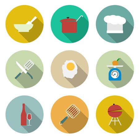 cooking book: Cooking vector icons
