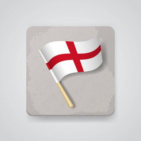 bandiera inghilterra: Inghilterra bandiera. Vettoriali