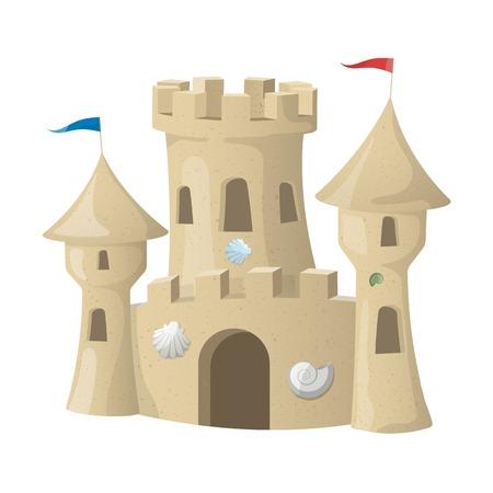 castle: Sand Castle.