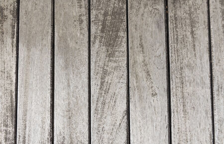 Background texture of old wooden lining boards wall photo