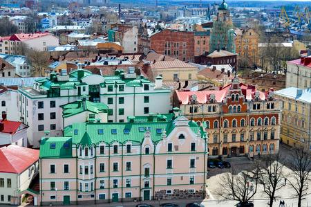 vyborg: Vyborg top view