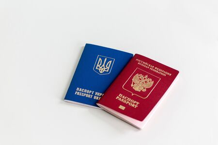 ukrainian: Russian and Ukrainian passport