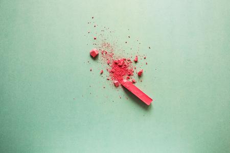 Broken Red chalk
