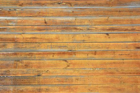 Old wooden wall from boards. Retro texture design template. Banque d'images - 140990274