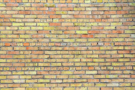 Retro brick wall old texture, great design for any purposes. Gray grunge texture. Banque d'images - 140990046