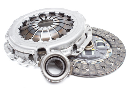 Set of car clutch with a pressure roller. horizontal layout Photo