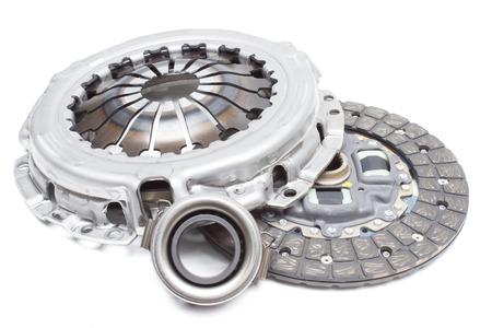 Set van auto clutch met een druk roller. horizontale lay-out Photo