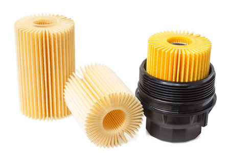 lubricate: engine oil filter with plastic housing