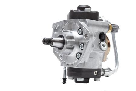 automobile pompe d'injection de carburant pour des moteurs diesel sur un fond blanc Banque d'images