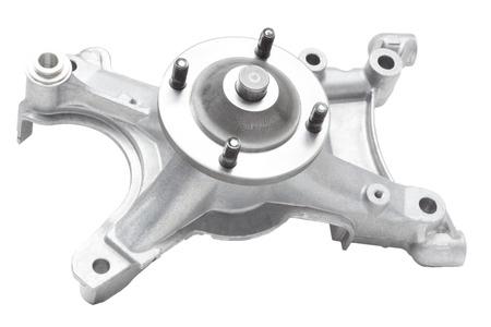bracket: bracket fan car engine on a white background
