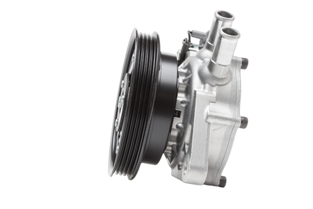 pomp: auxiliary water pump heating system of the second-row seat of the car. Heater assy  viscous with magnet clutch