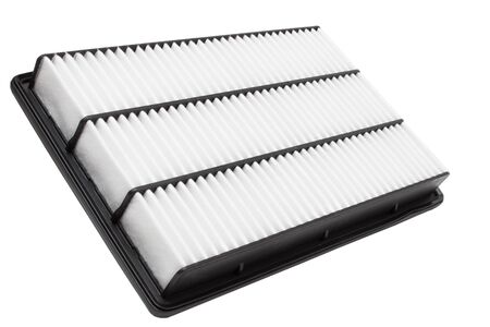 engine air filter on a white background