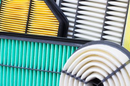 air cleaner: composición de los filtros de aire para el motor de un coche