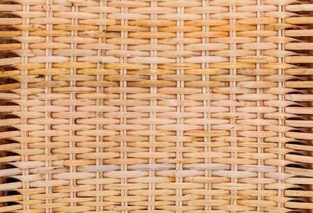 Rattan texture. Detail handcraft