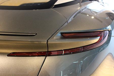 Aston Martin DB11. New car. Kiev, Ukraine. September 9, 2017. Editorial photo