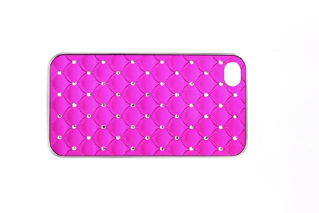 Case for phone. Pink