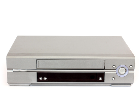 Video Recorder. VCR on white background