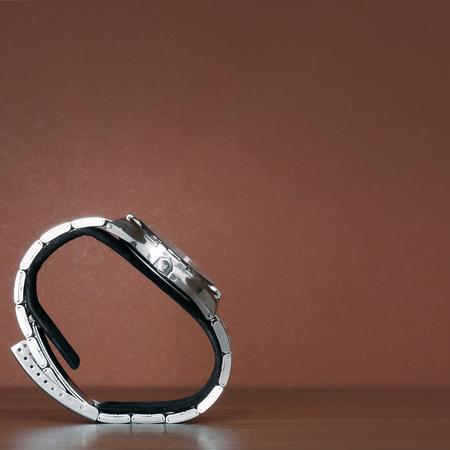 Men's wrist watch Banco de Imagens