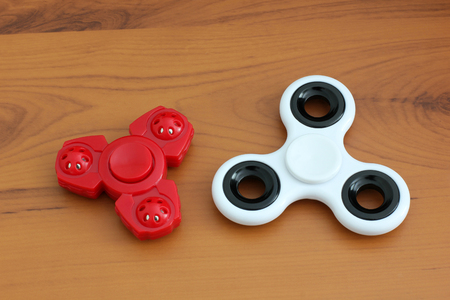 Two spinners. Toys Banco de Imagens