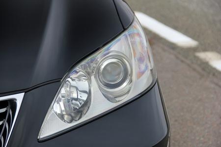 Car headlights. Luxury Headlights 免版税图像