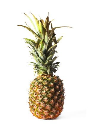 Pineapple on a white background. Fruit on a white background