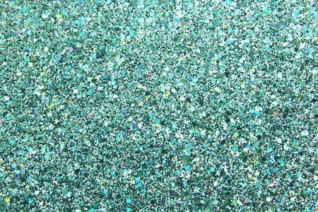 Background made of paper. Abstract background. Colorful sparkles. Turquoise