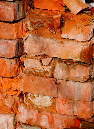 An old brick wall (background texture)