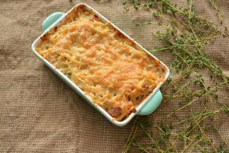 baked: Baked pasta