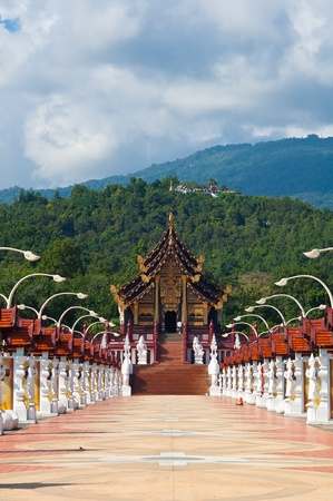 the Lanna style  in Chiang Mai Stock Photo - 17465782