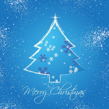 Christmas Greetings Frame Stock Vector - 17700144
