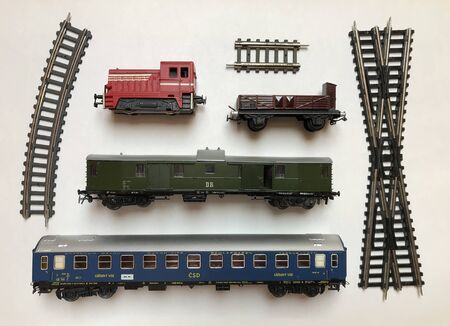 Collage of Railway Scale Models