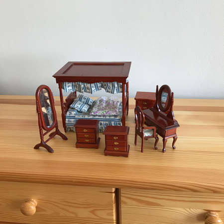 Scale Model of Old England's Bedroom
