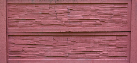 Pink rough concrete surface