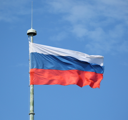 National flag of the Russian Federation