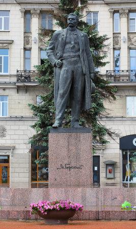 Maxim Gorky, Kamennoostrovsky prospect, Saint-Petersburg, Russia, Jun. 2018