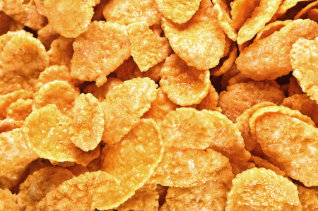 goldish: background of goldish corn flakes