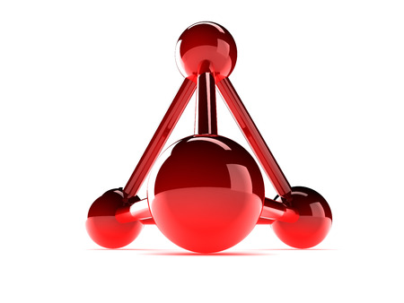 nodal: isolated glass model of molecular lattice