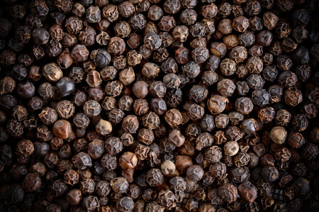 closeup background of  pepper seeds