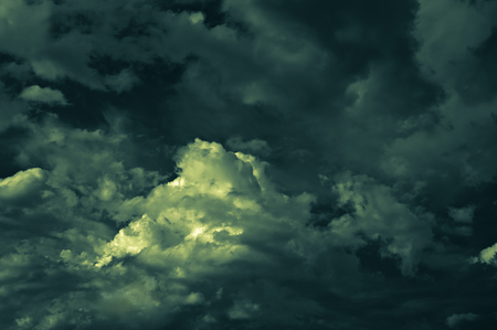 nightly: abstract mysterious nightly cloudscape background Stock Photo